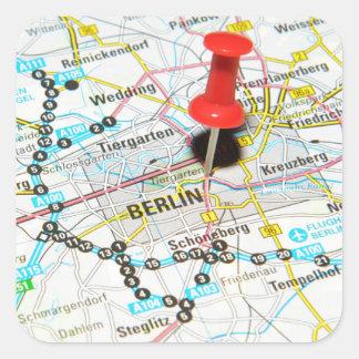 Berlin, Germany Square Sticker