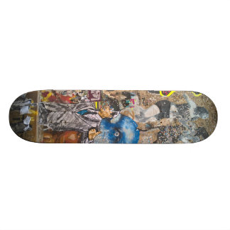 Berlin Graffiti Skateboard