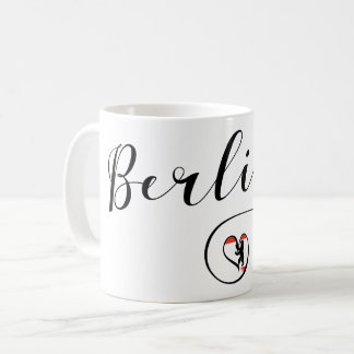 Berlin Heart Mug, Germany Coffee Mug