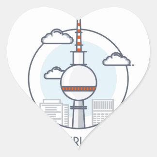 Berlin Heart Sticker
