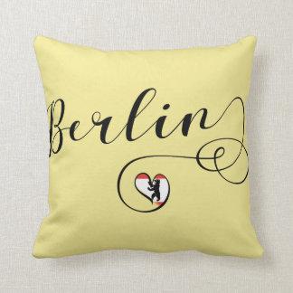 Berlin Heart Throw Cushion