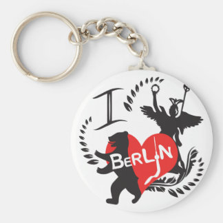 Berlin key supporter keychain