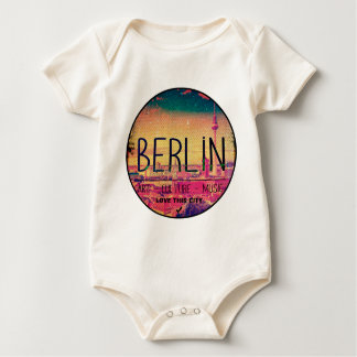 Berlin, Love This City series, circle Baby Bodysuit