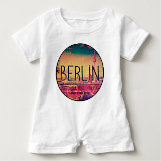 Berlin, Love This City series, circle Baby Romper