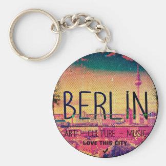 Berlin, Love This City series, circle Keychain