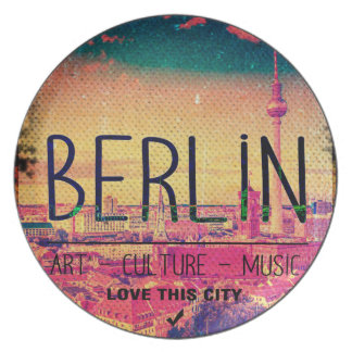 Berlin, Love This City series, circle Plate