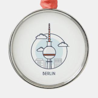 Berlin Metal Ornament