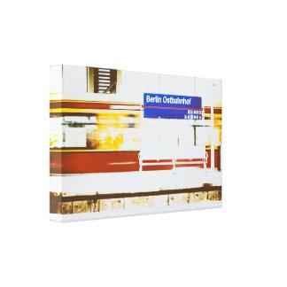 Berlin Ostbahnhof Canvas Print