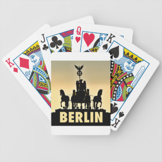 BERLIN Quadriga 002.1 Brandenburg Gate Bicycle Playing Cards