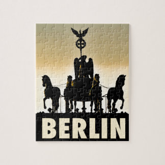BERLIN Quadriga 002.1 Brandenburg Gate Jigsaw Puzzle