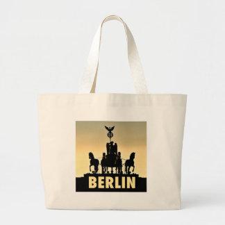 BERLIN Quadriga 002.1 Brandenburg Gate Large Tote Bag