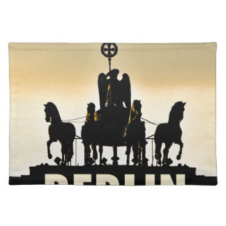 BERLIN Quadriga 002.1 Brandenburg Gate Placemat