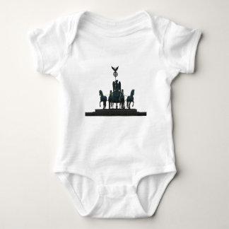 BERLIN Quadriga at Brandenburg Gate Baby Bodysuit
