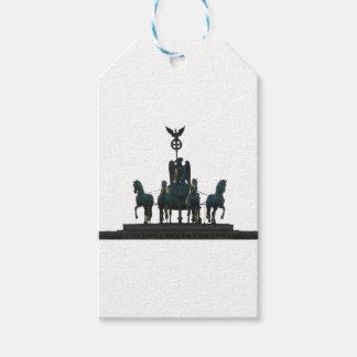 BERLIN Quadriga at Brandenburg Gate Pack Of Gift Tags