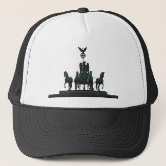 BERLIN Quadriga at Brandenburg Gate Trucker Hat