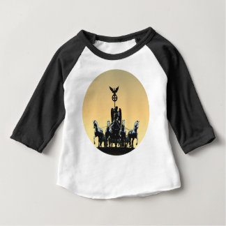 Berlin Quadriga Brandenburg Gate 002.1 rd Baby T-Shirt