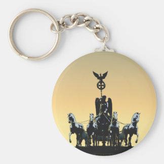Berlin Quadriga Brandenburg Gate 002.1 rd Keychain