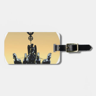Berlin Quadriga Brandenburg Gate 002.1 rd Luggage Tag