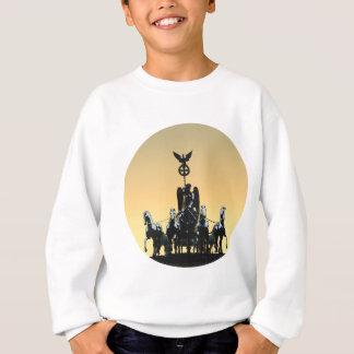 Berlin Quadriga Brandenburg Gate 002.1 rd Sweatshirt