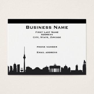 Berlin Skyline Business Cards