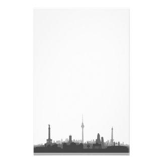 Berlin skyline stationery