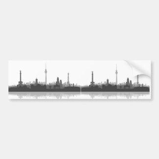 Berlin skyline stickers