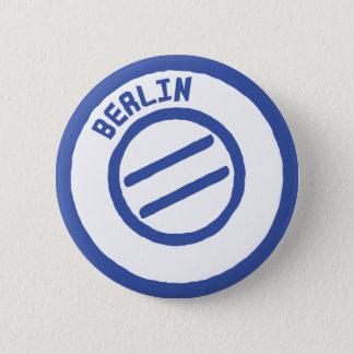 berlin stamp 2 inch round button