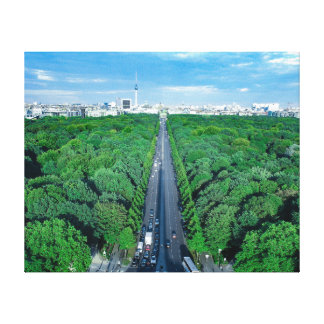 Berlin Tiergarten Canvas Photo Print