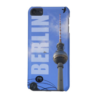 "BERLIN TV Tower with detail OF ""World time Clock "" iPod Touch 5G Case"