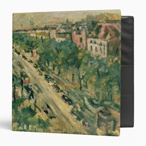 Berlin, Unter den Linden, 1922 Vinyl Binder