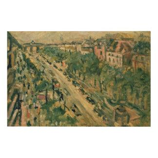 Berlin, Unter den Linden, 1922 Wood Canvases