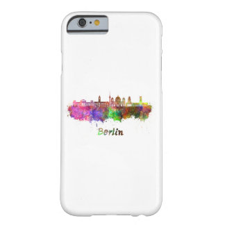 Berlin V2 skyline in watercolor Barely There iPhone 6 Case