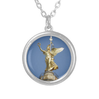 Berlin, Victory-Column 002.01 Silver Plated Necklace