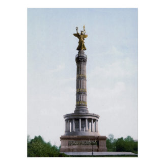 Berlin Victory Column Poster