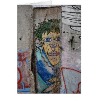 Berlin Wall Art - Berlin, Germany Card