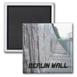 Berlin Wall, Berlin, Germany Square Magnet