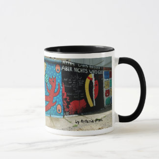 Berlin Wall, by Antonio Perri Mug