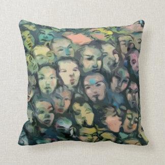 Berlin Wall Graffiti American MoJo Pillow