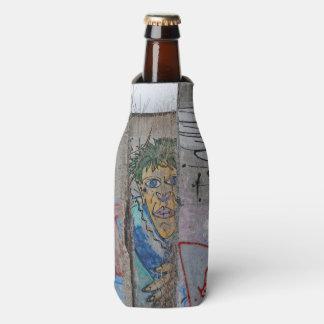 Berlin Wall graffiti art Bottle Cooler