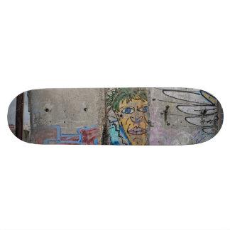 Berlin Wall graffiti art Custom Skate Board