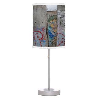Berlin Wall graffiti art Desk Lamp