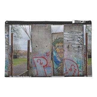 Berlin Wall graffiti art Travel Accessories Bags