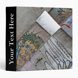 Berlin Wall graffiti art Vinyl Binders