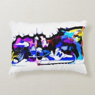 berlin-wall-graffiti-largest22 decorative pillow