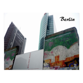 berlin wall potsdamer postcard