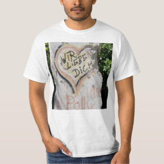 Berlin Wall - We Love You T-Shirt
