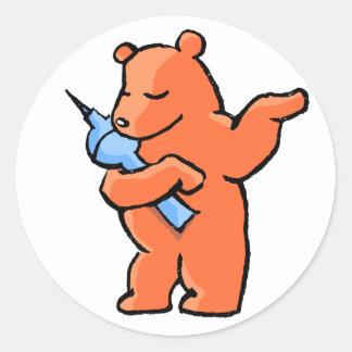 Berliner Bear! Classic Round Sticker