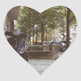Berlinese Sidewalk Heart Sticker