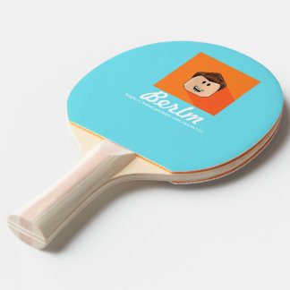 Berlm Table Tenis Ping Pong Paddle