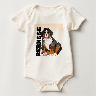 Bermese Mountain Dog Baby Bodysuit